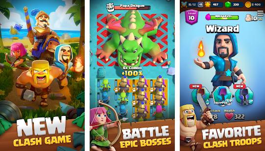 Capture d'écran Clash Quest