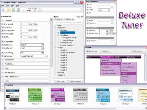 Capture d'écran Deluxe Tuner
