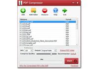 Capture d'écran PDF Compressor