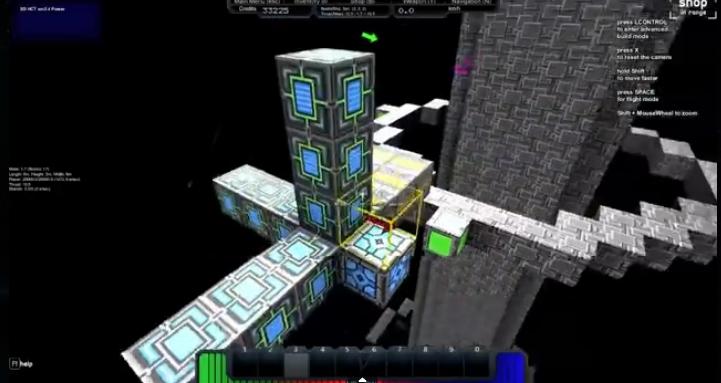 Capture d'écran StarMade
