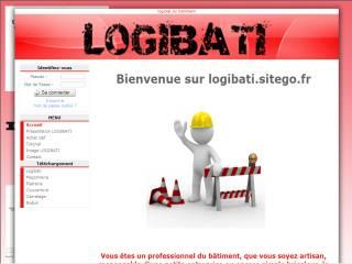 Capture d'écran Logibati
