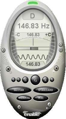 Capture d'écran enable Guitar Tuner