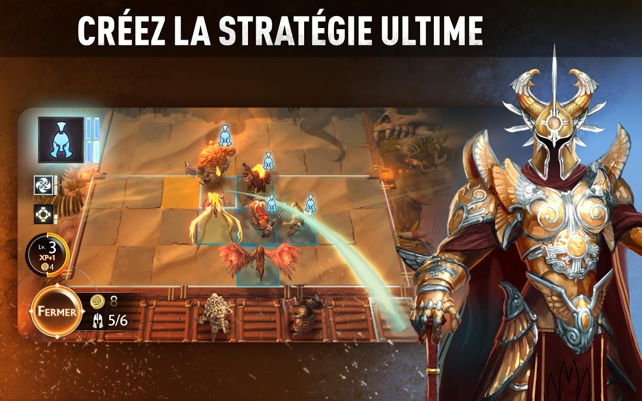 Capture d'écran Might and Magic: Chess Royale Android