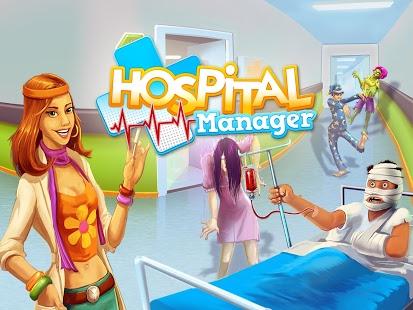 Capture d'écran Hospital Manager