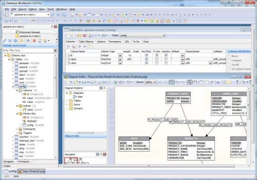 Capture d'écran Database Workbench Pro 5.6.2