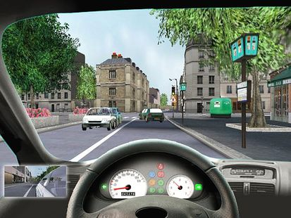 Capture d'écran Simulateur de conduite 3D