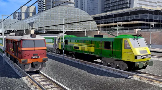 Capture d'écran Train Sim 2019 Android
