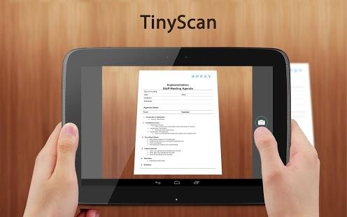 Capture d'écran Tiny Scan Pro : PDF Scanner