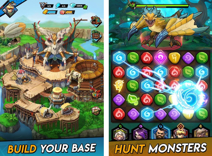 Capture d'écran Hunters and Puzzles Android