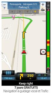 Capture d'écran CoPilot GPS – Navigation