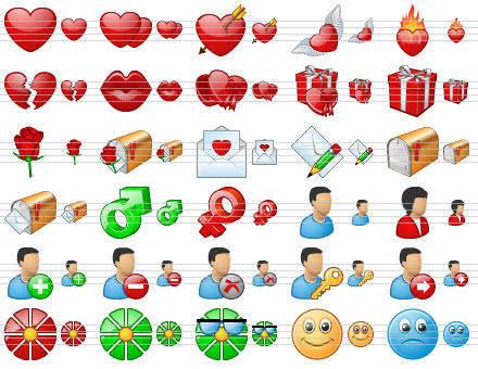 Capture d'écran Standard Dating Icons