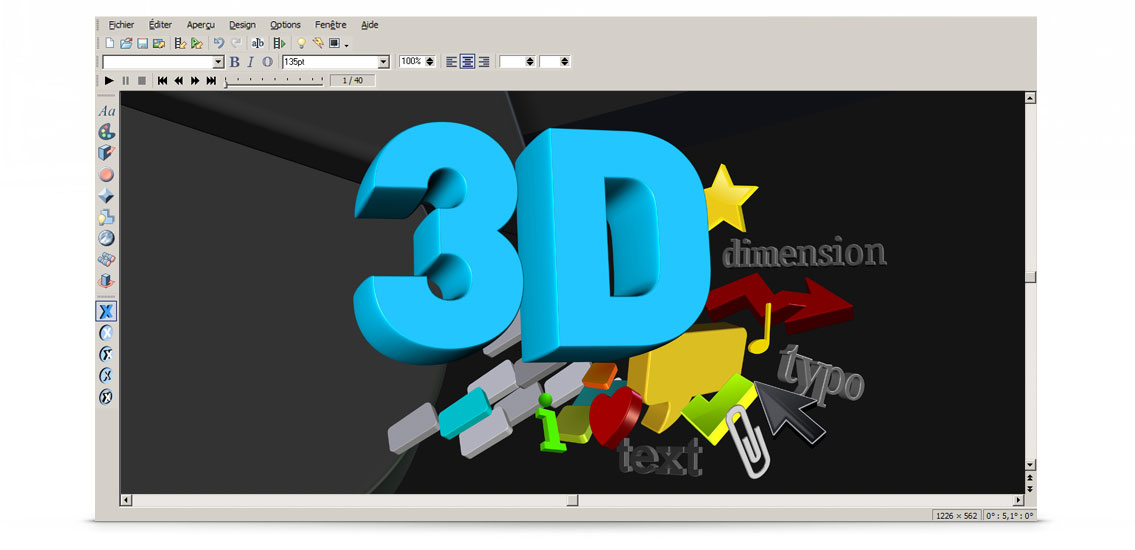 Capture d'écran MAGIX 3D Maker