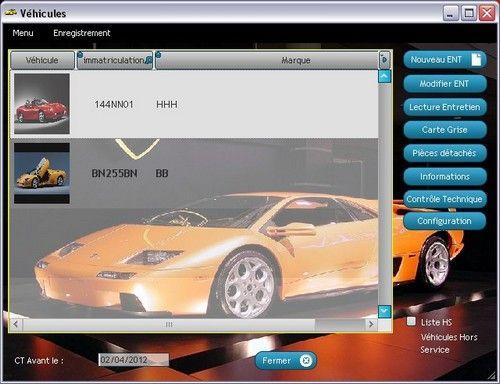 Capture d'écran Véhicules Classic SW