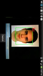 Capture d'écran Face recognition