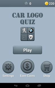 Capture d'écran Logo de voitures Quiz