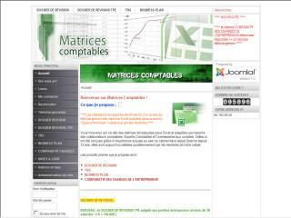 Capture d'écran COMPARATIF DES CHARGES DE L'ENTREPRENEUR