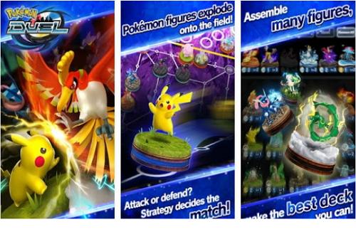 Capture d'écran Pokemon Duel Android