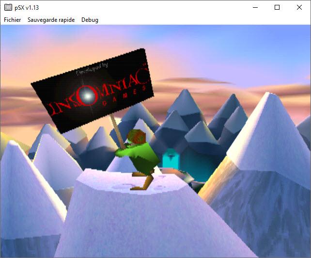 Capture d'écran pSX