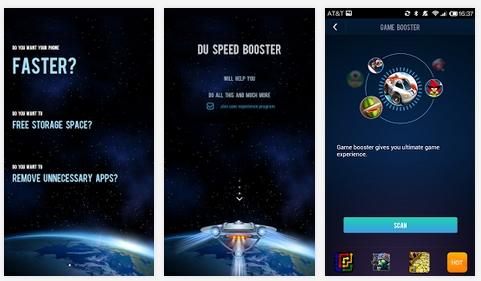 Capture d'écran DU Speed Booster Android