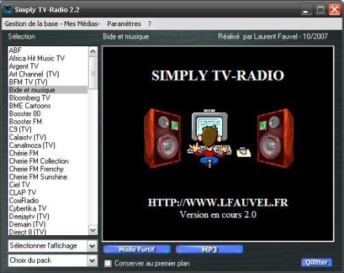 Capture d'écran Simply TV-Radio 2