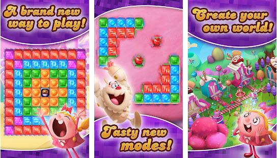 Capture d'écran Candy Crush Cubes Android