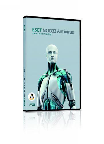 Capture d'écran ESET NOD32 Antivirus Business Edition Linux Desktop
