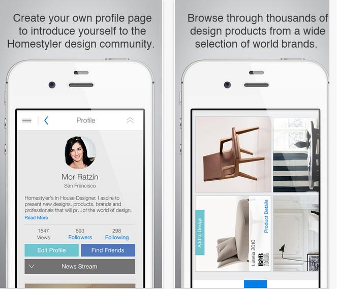 Capture d'écran Homestyler Interior Design iOS