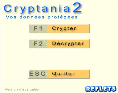 Capture d'écran Cryptania