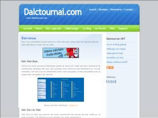 Capture d'écran Dalc Web Book 2012