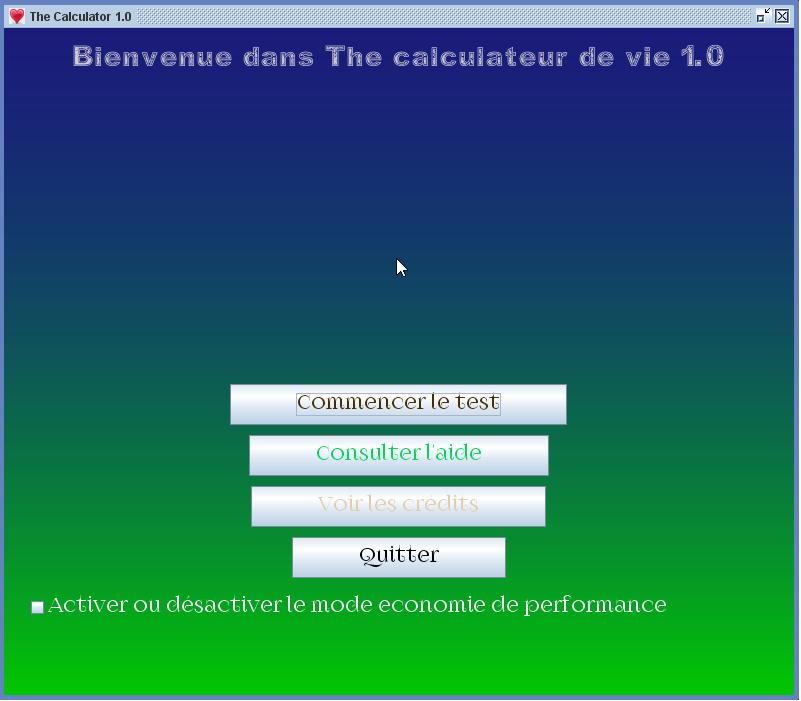 Capture d'écran The Calculator 1.0