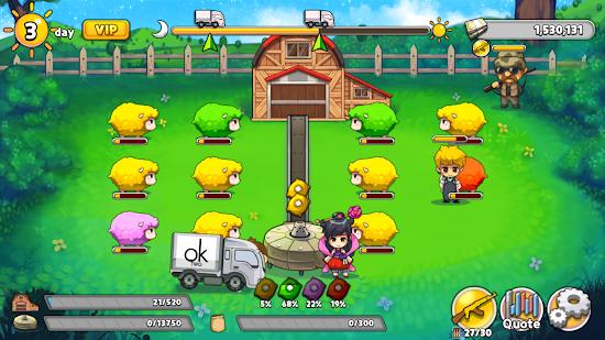 Capture d'écran Sheep Tycoon
