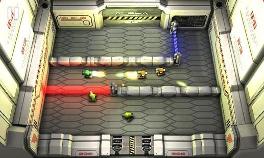 Capture d'écran Laser Wars Lite Sony Edition