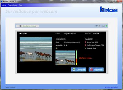 Capture d'écran KIPICAM
