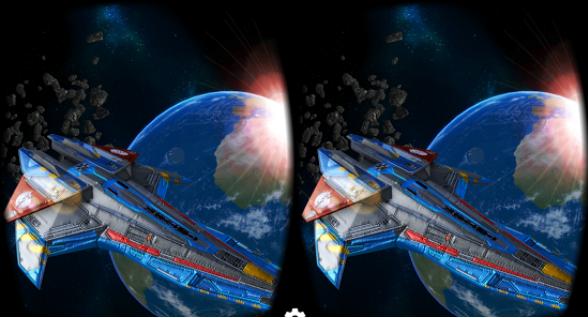 Capture d'écran Deep Space Battle VR Android