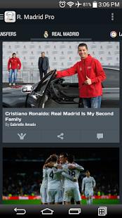 Capture d'écran Real Madrid – 90min Edition