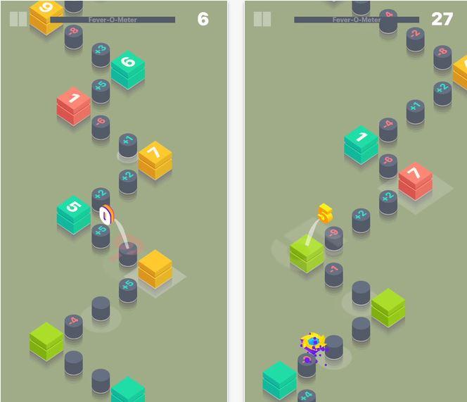 Capture d'écran Math Hopper iOS