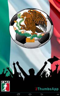 Capture d'écran Soccer Mexican League