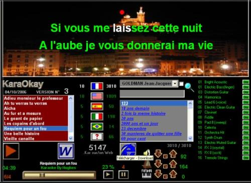 Capture d'écran Karaokay
