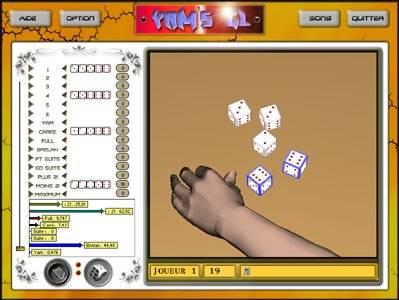 Capture d'écran YamGL