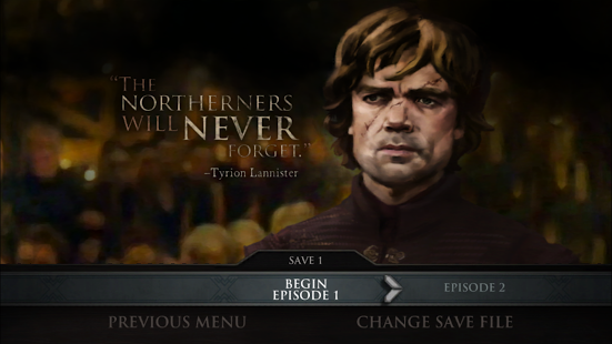 Capture d'écran Game of Thrones – A Telltale Game Series Android