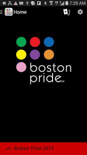 Capture d'écran Boston Gay Pride