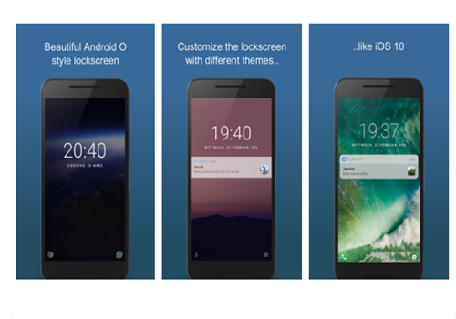 Capture d'écran Floatify Lockscreen Android