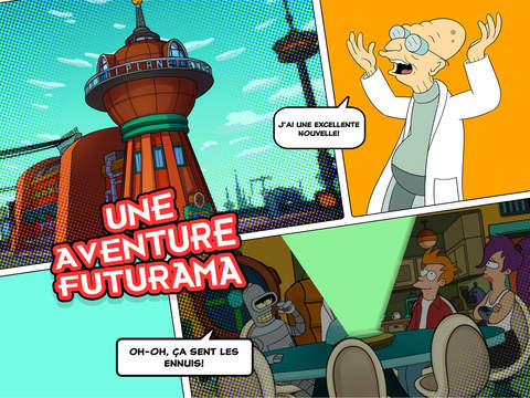 Capture d'écran Futurama : Game of Drones iOS