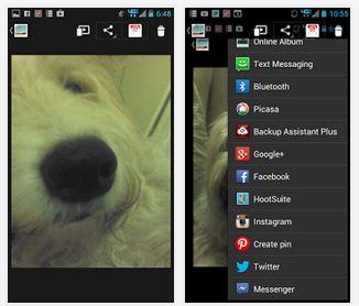 Capture d'écran Selfie Camera App Android