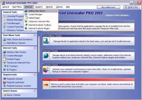Capture d'écran Advanced Uninstaller PRO