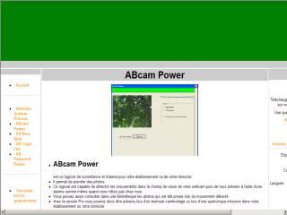 Capture d'écran Abcampower