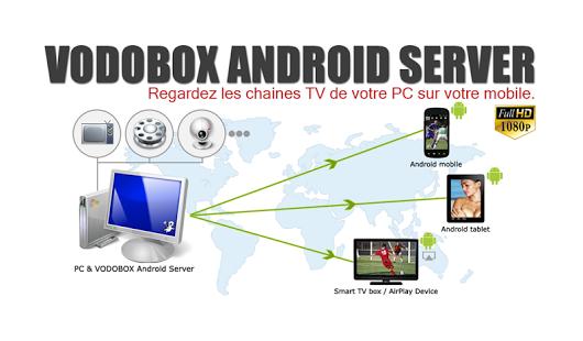 Capture d'écran My VODOBOX Android Server