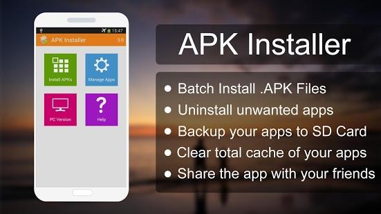 Capture d'écran APK Installer