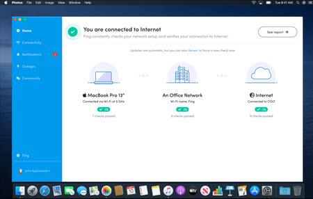 Capture d'écran Fing Desktop Mac