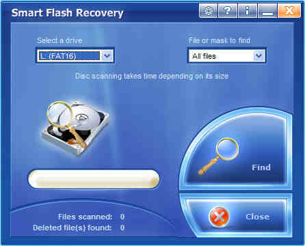 Capture d'écran Smart Flash Recovery